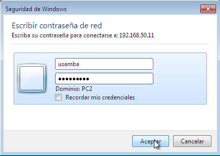 Configuracion de Samba Fedora y Windows7