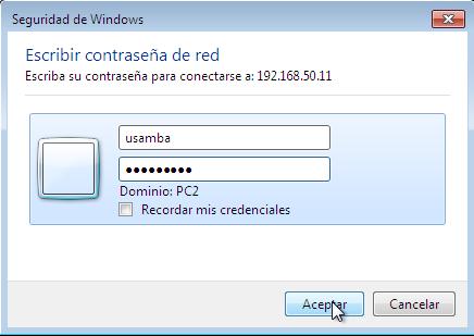 Configuracion de Samba Fedora y Windows7