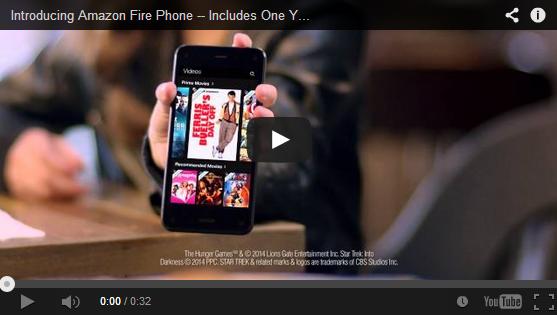 Conoce al nuevo Amazon Fire Phone