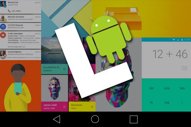 Android L, nueva versión más amigable y segura