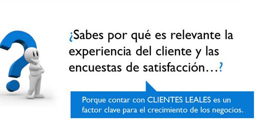 Encuestas de satisfaccion para los clientes